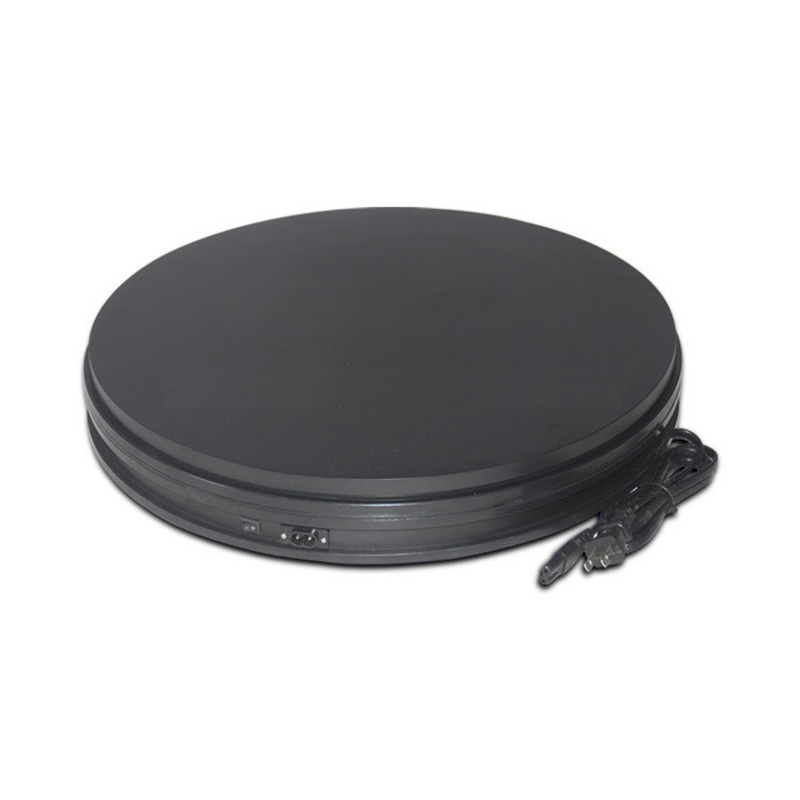 Professional 360 Degree Electric Rotating Turntable for Photography,14 Diameter, 110 Lb Capacity. Automatic Revolving Platform merchandise display base 360 degree electric rotary table display for photography 25cm automatic revolving platform handicraft