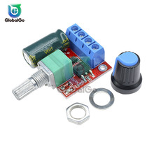 5A 90W PWM DC Motor Speed Controller Module DC-DC 4.5V-35V Adjustable Regulator Control Governor Switch 12V 24V