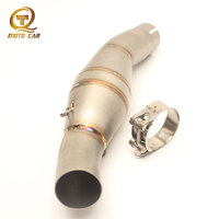Adapter Middle Link Exhaust Motorcycle Connecting Pipe Muffler Clarm Escape for Benelli 300 Exhaust System Moto Accessories