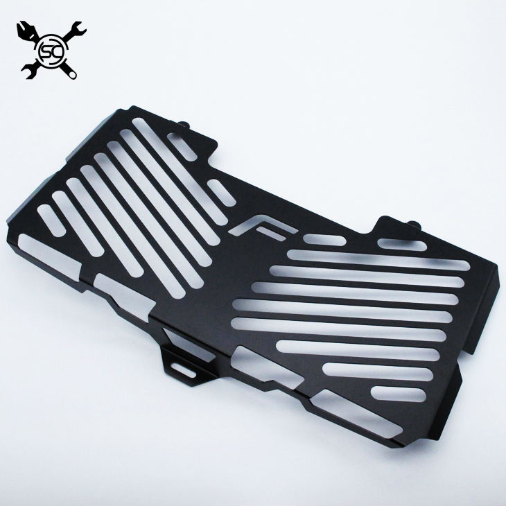 Motorcycle Matte Black Radiator Guard Cover Protector Fits For BMW F800R 2009 - 2016 2010 2011 2012 2013 2014 2015 F800 R for bmw f800r 2016 2015 2014 2013 2012 2011 2010 2009 radiator guard protector grille grill cover bike motorcycle accessories