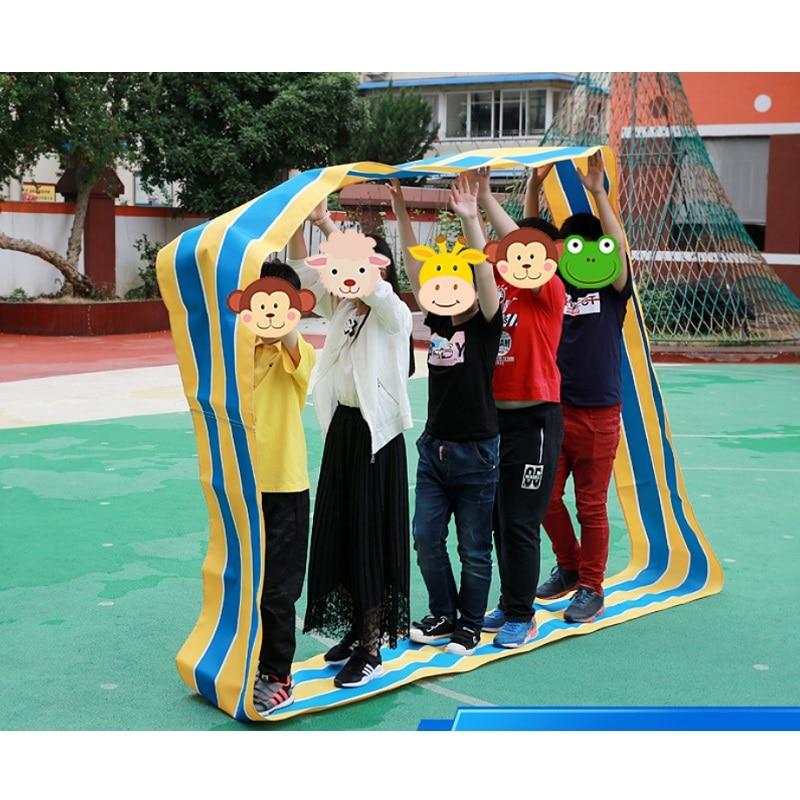 1 セット子供屋外チーム協力センストレーニングインタラクティブおもちゃ子供の教育玩具幼稚園スポーツゲーム  グループ上の おもちゃ & ホビー からの おもちゃ スポーツ の中 1