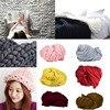 Wool Yarn Super Soft Bulky Arm Knitting Wool Roving Crocheting DIY