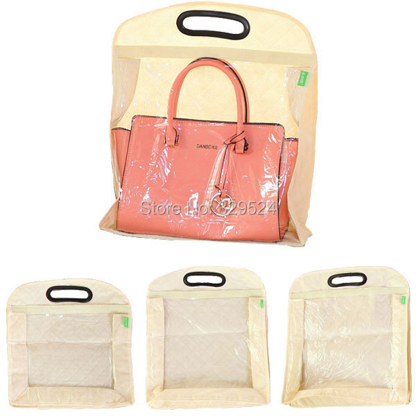 Hanging Transparent Pvc And Non Woven Fabric Dust Bag For Handbags In Storage Bags From Home Garden On Aliexpress Alibaba Group