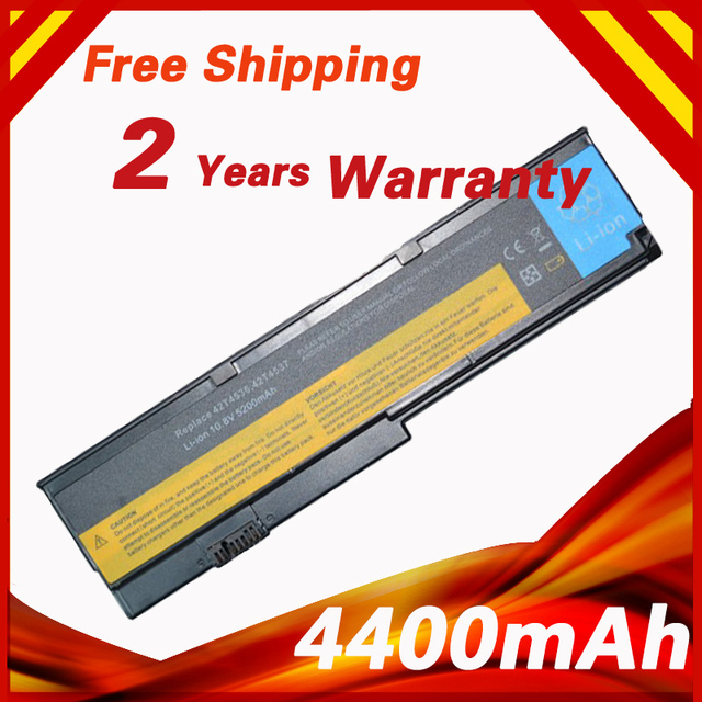 6cells Battery For Lenovo ThinkPad X200 X201 X201i X200S X201s 42T4534 42T4647 42T4835 42T4537 42T4536 ASM 42T4537 FRU 42T4538