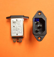 2 pz General Purpose CORRENTE ALTERNATA EMI Noise Filter 10 Amp 110 V 115 V 220 V 240 V 250 V