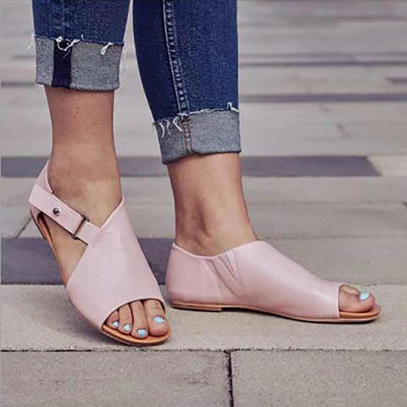 Women sandals 2019 new fashion outdoor buckled shoes woman light flats sandals women shallow mouth casual women shoes plus sizeWomen sandals 2019 new fashion outdoor buckled shoes woman light flats sandals women shallow mouth casual women shoes plus size