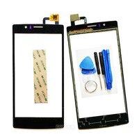 Touch Screen Per Archos 50D Elio 4G Pannello Touch Screen Digitizer Sensor Vetro Lente di Ricambio + 3 M Sticker
