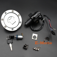 Ignition Switch Fuel Gas Cap Cover Seat Lock For CBR919RR CBR600F F2 F3 CBR900RR new E Moto