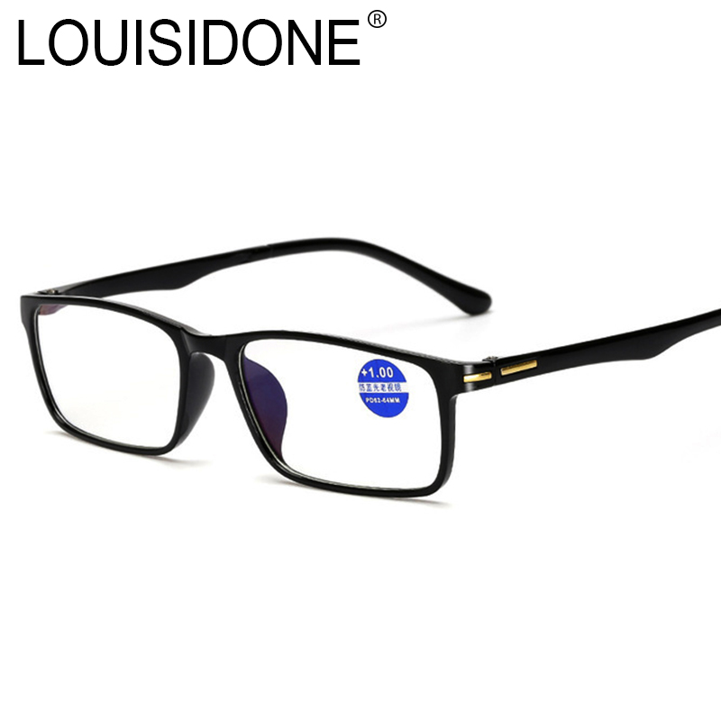 Herren-brillen Bekleidung Zubehör Lesebrille Oculos Gafas De Lectura Hombre Vasos Leesbril Lupe Brillen Lentes Mujer Große Vision Bril Männer Anti Reflektierende