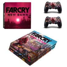 Far Cry Farcry New Dawn PS4 Pro Skin Sticker For Sony PlayStation 4 Console and Controllers PS4 Pro Skin Sticker Decal Vinyl