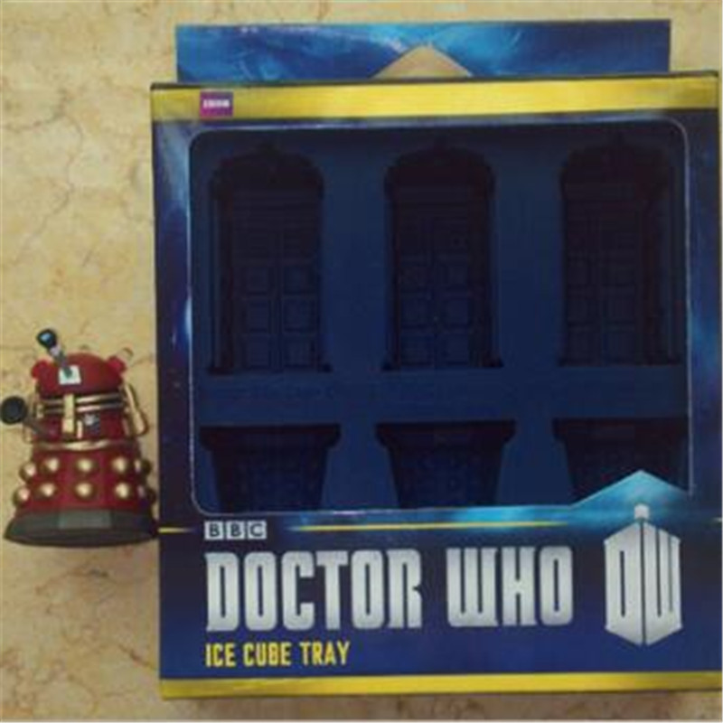 Movie Doctor Who Ice Cube Tray Cosplay Props Accessories Baking Mold