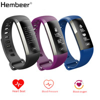 M2s Smart Bracelet Heart Rate Monitor Blood Pressure Blood Oxygen Fitness Tracker Stop Watch Smart Wristband
