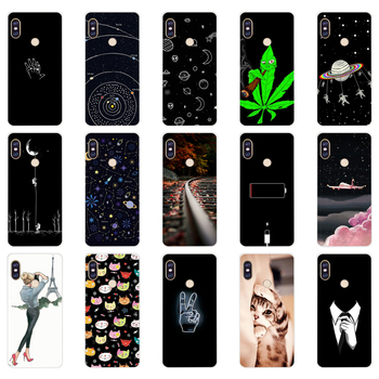 H silicone case For 5.99 inch Xiaomi Redmi Note 5 global pro Case Cover redmi note 5 Snapdragon 636 version note5 pro case image
