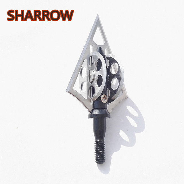 4/6/12PCS Blade Arrowhead 100Grain Stainless Steel Broadhead Screw Arrow Point Tip For Outdoor Shooting Tools Accessories-in Darts from Sports & Entertainment on Aliexpress.com | Alibaba Group