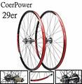 Coverpower 29-дюймовый 2/5 подшипник  горный велосипед  велосипед  колесо 120  алюминиевый сплав  комплект колес  дисковый тормоз  колеса mtb