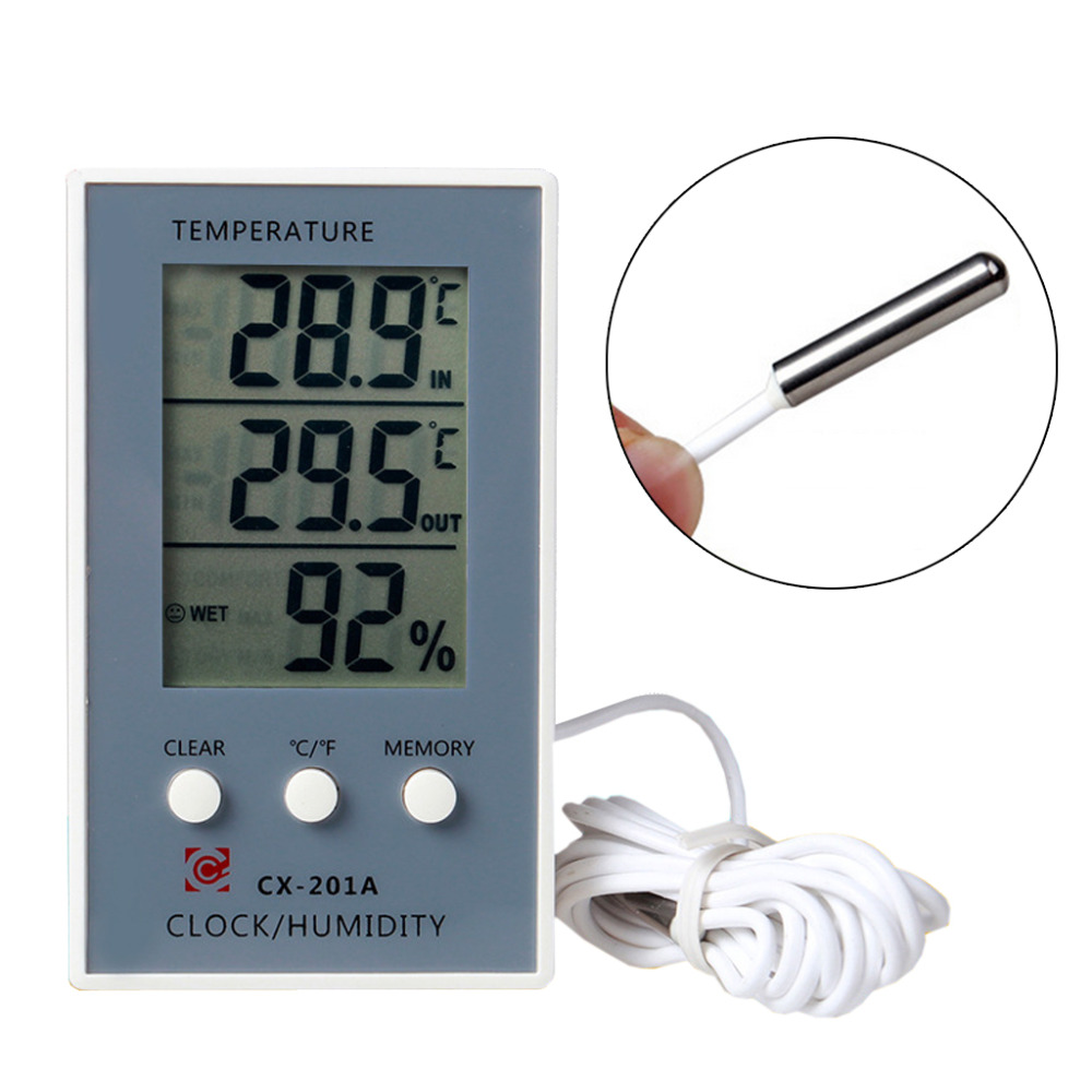 LCD Digital Thermometer Hygrometer Temperature Humidity Measurer Tester  1A40012