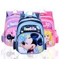Boa Qualidade! 2016 New Arrival Crianças Mochila Escolar Dos Desenhos Animados Kitty Mickey Kid Meninas Meninos saco Escola Do Jardim de Infância