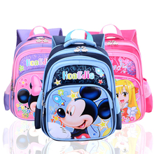Good Quality ! 2016 New Arrival Children School Backpack Cartoon  Kitty  Mickey Kid Girls Boys Kindergarten School bag
