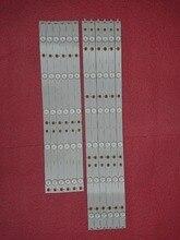 Tira de LED para iluminación trasera para Sharp LC 50LB370U, 12 Uds., 50LB371U 50LB261U 50PFH6550 500TT65 500TT66 LC 50LB261U 500TT61 500TT62 500TT63