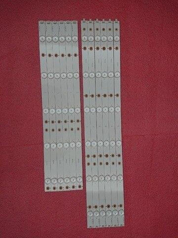 Led para Lc-50lb370u Nova Tira Retroiluminação 50lb371u 50lb261u 500tt65 500tt66 v1 Lc-50lb261u 500tt61 v0 500tt62 500tt63 12 Pçs – Set