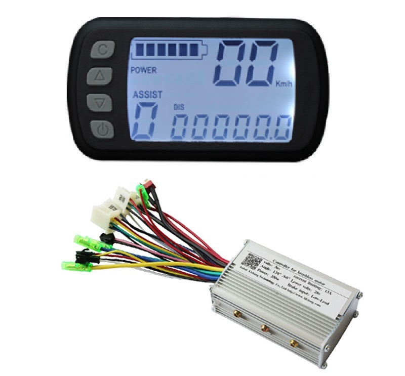 Free Shipping 250W 48V DC brushless motor control panel Liquid crystal display LCD controller E-bike electric bicycle speed amandeep gill manbir kaur and nirbhowjap singh speed control of brushless dc motor by neural network pid controller