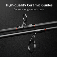 Ultralight Carbon Spinning Fishing Rod with Ceramic Guide Rings