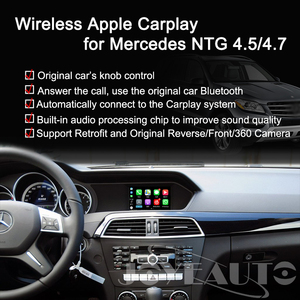 Image 3 - Joyeauto WIFIไร้สายApple CarPlay Android AutoกระจกA B C E G GL ML Class Mercedes NTG4.5 4.7 รถเล่นAirPlay iOS 13