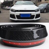New Auto Front Bumper Lip Skirt Protector Car Bumper Strip For VW Passat B6