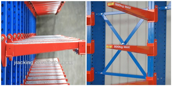 Projects Design Outdoor Storage Pipe Material Storage Shelf, Warehouse  Double Side Rack Australia Economic System