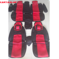 CARTAILOR car seats fit for Toyota Prius car seat cover protector sandwich fabric seat covers & supports interior accessories