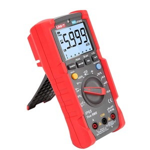Image 4 - UNI T ut191e/ut191t multímetro profissional; verdadeiro rms ip65 impermeável/dustproof multímetro digital, temperatura/loz tensão
