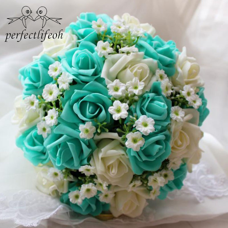 Handmade Wedding Flowers: Perfectlifeoh Handmade Artificial Wedding Bouquet Flower