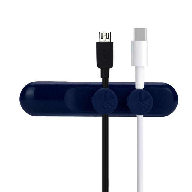 Magnetic Cable Clips Cable Holder Desktop Cable Clip Cord Wire ...