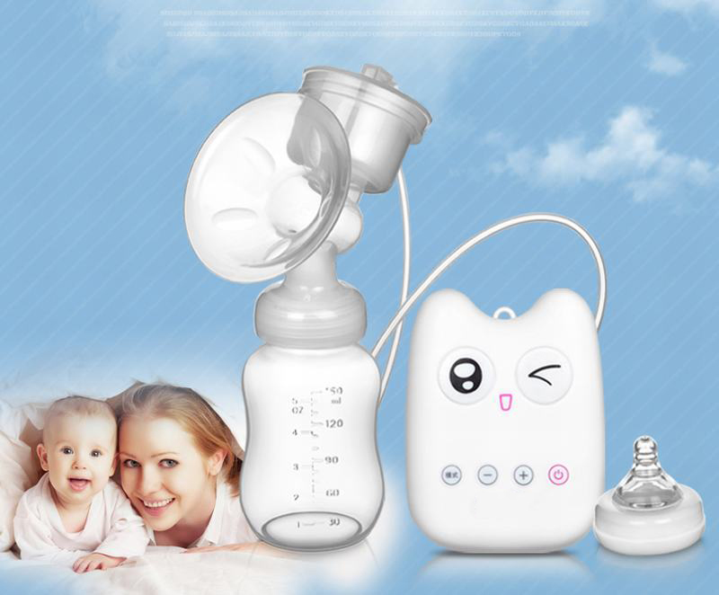 USB Electric Breast Pump with Automatic Massage and Powerful Suction for Prevention of Back Flow 3