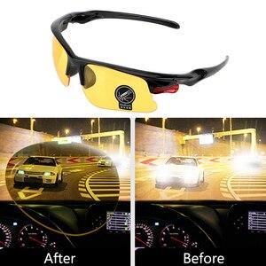 Car Night Vision Glasses Driver Goggles Polarizer Sunglasses For Toyota Corolla RAV4 Camry Prado Yaris Hilux Prius Land Cruiser(China)