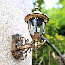 Уличный настенный светильник Модный водонепроницаемый настенный светильник наружные светодиодные садовые светильники балконные лампы WKS-OWL32