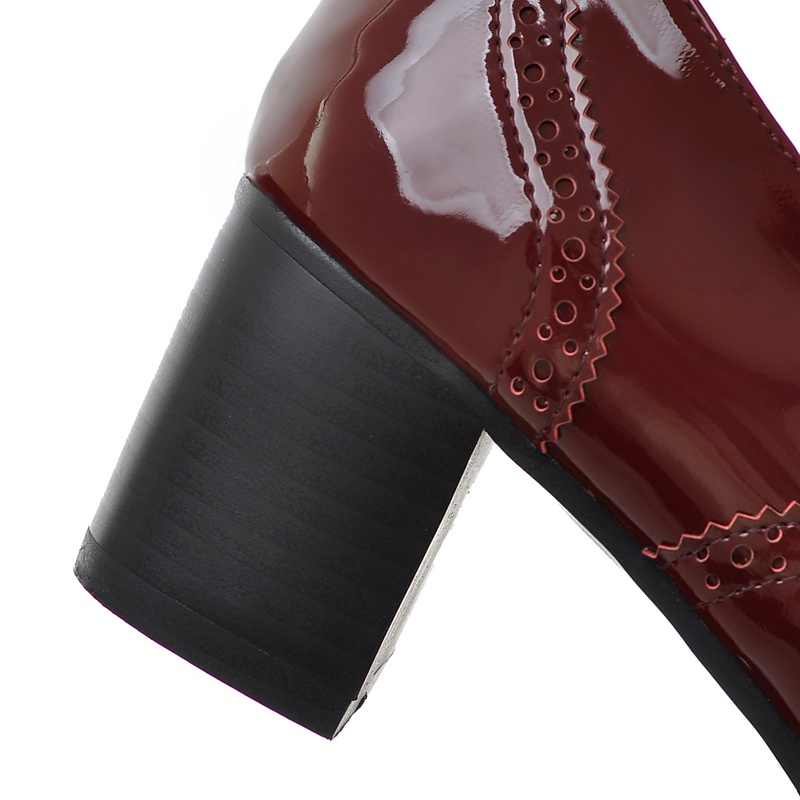 194ac4fd2b AIWEIYi High Heel Shoes Woman Ladies Oxfords Shoes Women Spring Women Pumps  Shoes Soft PU Leather Women High Heels Casual Shoes | imarket online  shopping