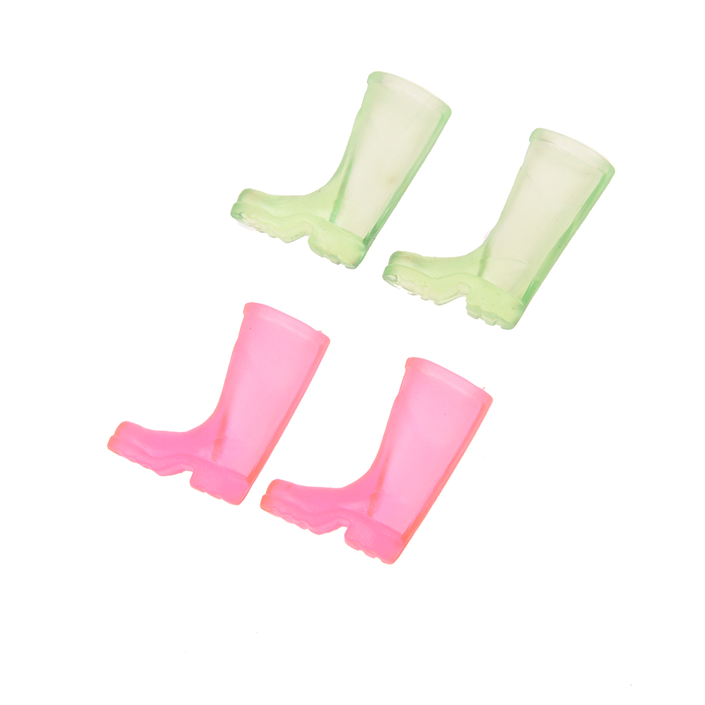 1/12 Dollhouse Furniture Miniature Rubber Rain Boots Home Garden Yard Accessory ...