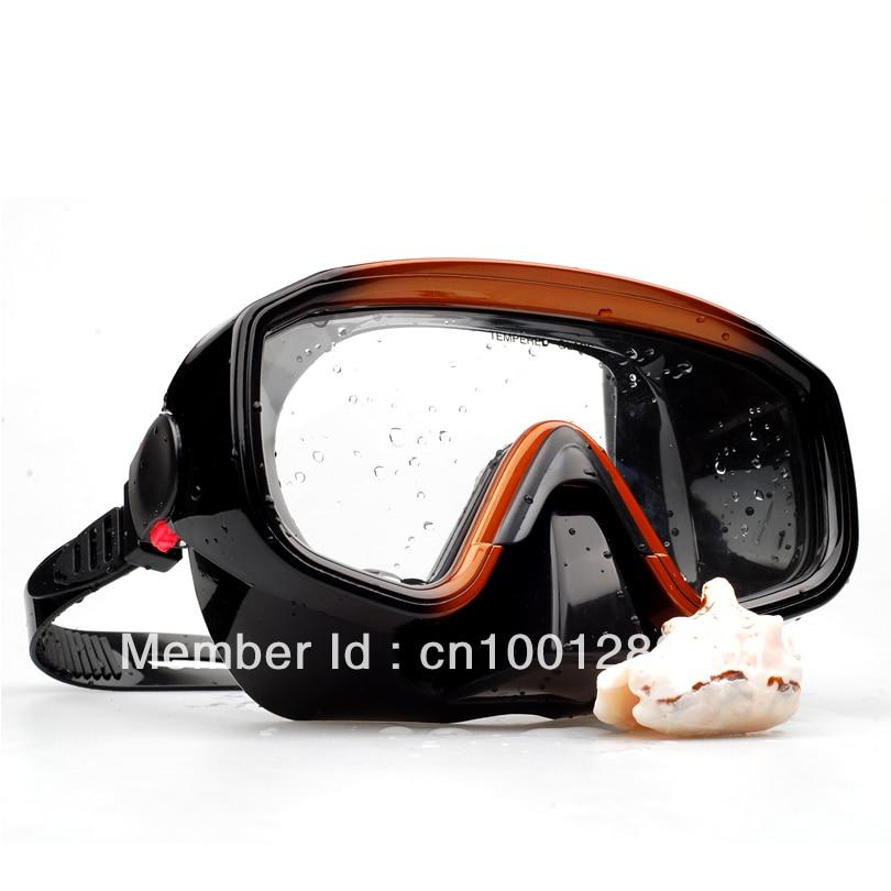 Máscara de buceo de silicona de alta calidad de una ventana - Deportes acuáticos - foto 4