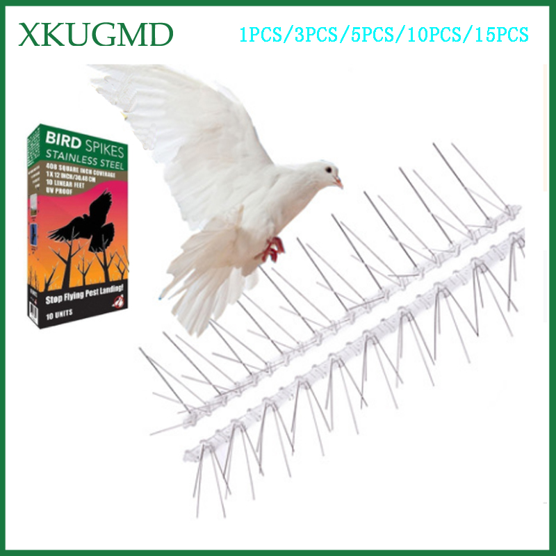 1/3/5/10/15PCS Stainless Steel Bird Stinger Get Rid Of Bird Pests To Protect Orchard Bird Catcher Scare Birds Pest Control-in Traps from Home & Garden