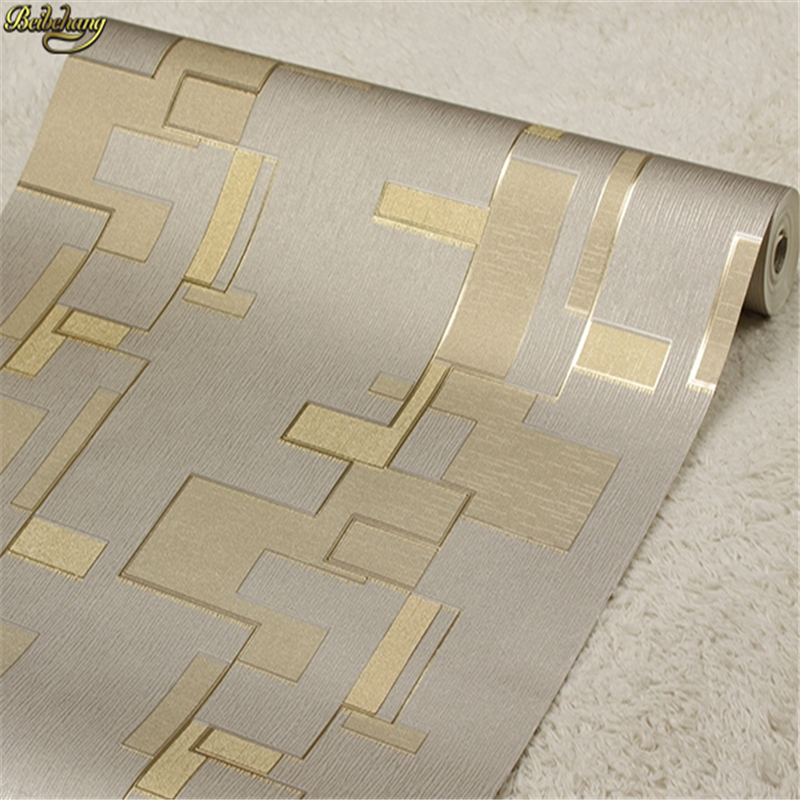 beibehang Modern abstract court KTV private room luxury hotel lobby background wallpaper gold foil three - dimensional embossed