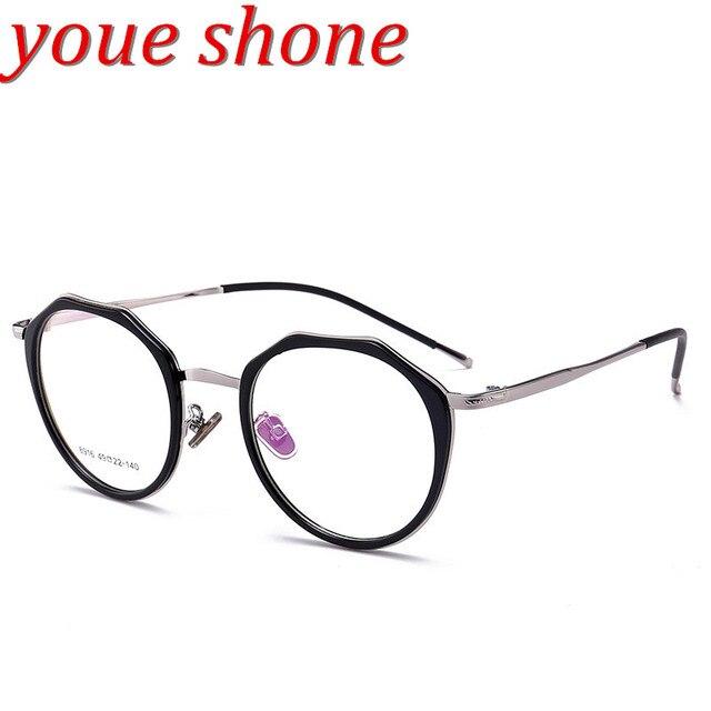 youe brillait marque tendance lunettes lunettes rondes femmes tr 90 montures de lunettes de mode. Black Bedroom Furniture Sets. Home Design Ideas