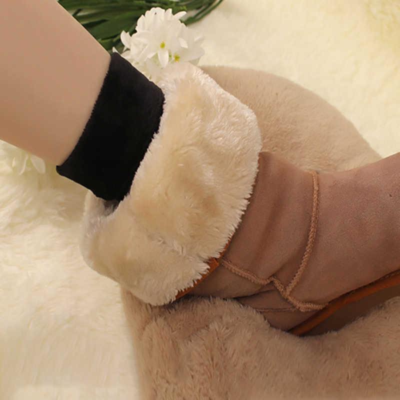 Kış Kar Çorap Isıtıcı Kadınlar Kalınlaşmak Termal Yün Kaşmir Dikişsiz Kadife Çizmeler Kat Uyku Dropship kabarık çorap