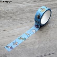Homegaga cartoon fashion funny Washi diy Scrapbooking Adhesive Masking Tape Printed Pattern stickers D1985