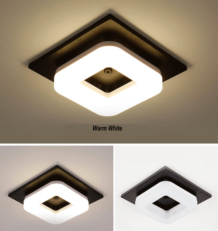 HTB1RhzOBYSYBuNjSspfq6AZCpXa9 Artpad Modern Flush Mount Ceiling Light Hallway Porch Balcony Lamp Interior Lighting Surface Mounted Square LED Ceiling Lights