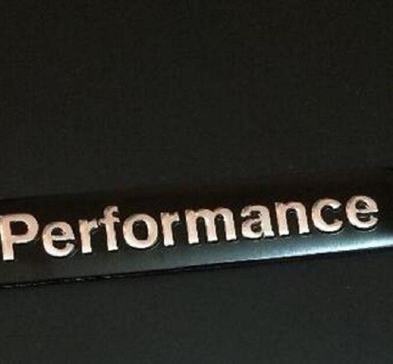 20pcs Lot 3d Aluminum Alloy M Performance Car Stickers Car Styling