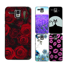 for Lenovo A808T A8 A806 A 806 Original Phone Case Printed Back Cover Shell Bag Painting Skin Flower Coque Capa