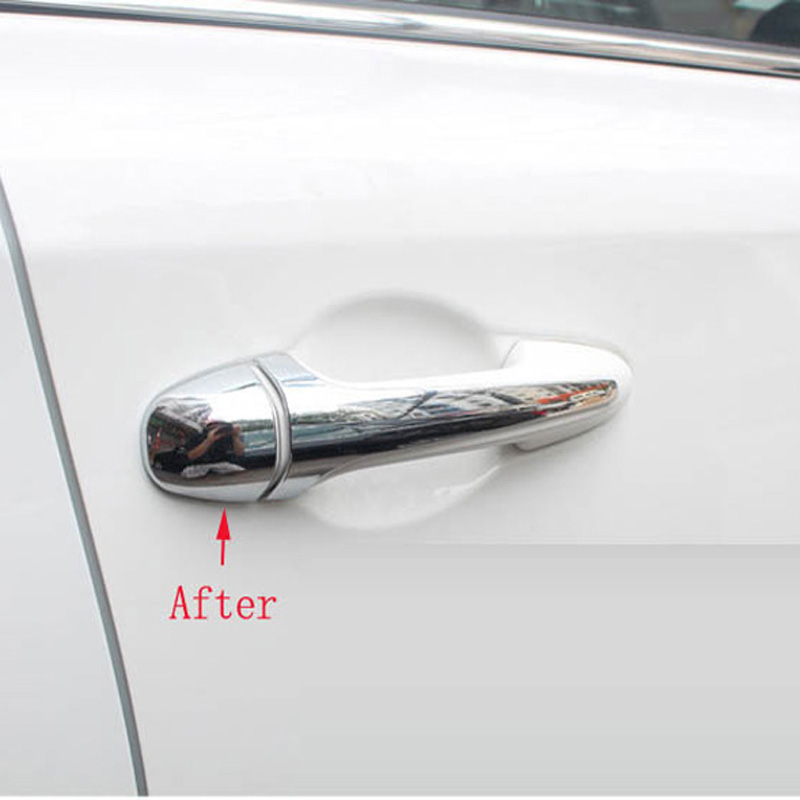 Image 4 - for toyota rav4 rav 4 xa40 2018 2017 2016 2015 2014 2013 chrome door handle cover parts accessories-in Chromium Styling from Automobiles & Motorcycles