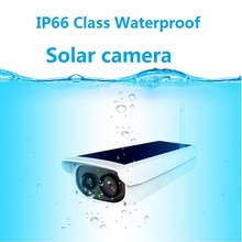 Solar Cell Camera 1080p High Definition Wireless Network Outdoor Mobile Telephone Night Vision Monitor No Complex Wiring Plug