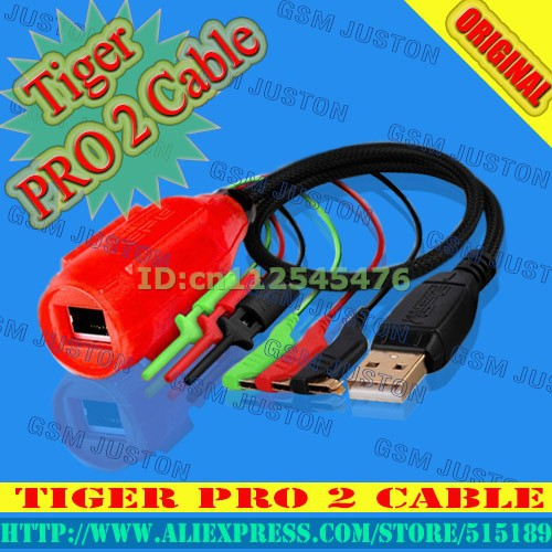 Tiger pro2 cable-gsm juston
